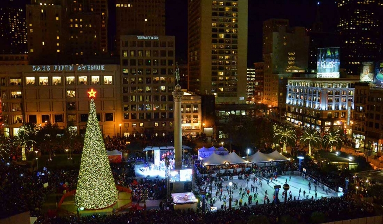 2016 2-Day Holiday Getaway to Union Square SF Sweepstakes