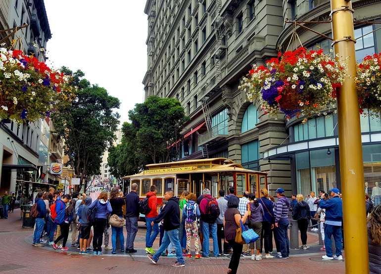 Welcome to Union Square, San Francisco!
